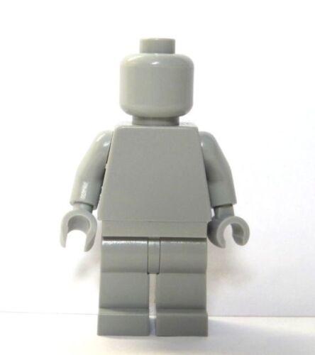 Gray Light Grey Monochrome NEW LEGO Statue Figure GENUINE LEGO