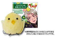 Movic Hetalia Axis Powers APH Phone strap Figure Prussia Bird plush doll Real