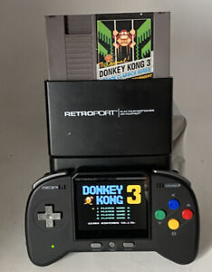 Donkey Kong 3 Arcade Classic NES 1986  Authentic, Game & Sleeve See Working Pics