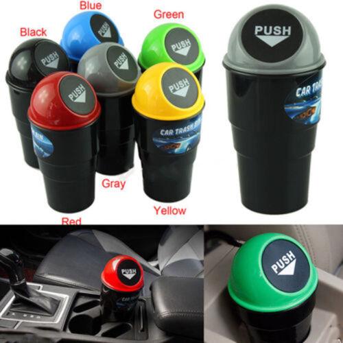 Fashion Car Office Home Auto Waste Trash Rubbish Bin Can Garbage Dust CasODCA
