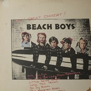 The-Beach-Boys-Wow-Great-Concert-Pickwick-33-Records-1972-Vinyl-Rock