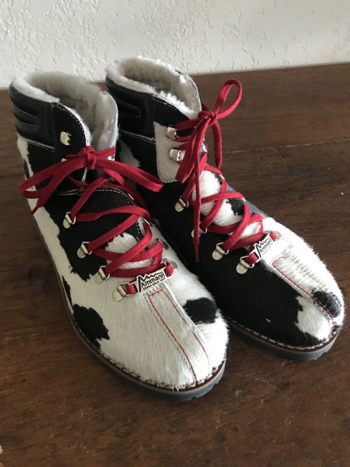Ammann de de de Suiza Vaca Ocultar Cuero botas  toma