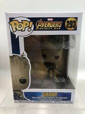 Vinyl #293 Cheapest Teen Groot with Gun Avengers Infinity War Marvel Funko POP