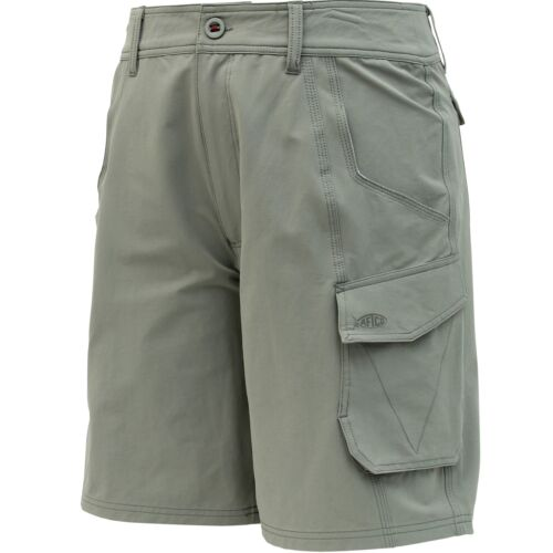 AFTCO M80 Stealth Fishng Shorts--UPF 50 Sun Protection-Pick Color//Size-Free Ship
