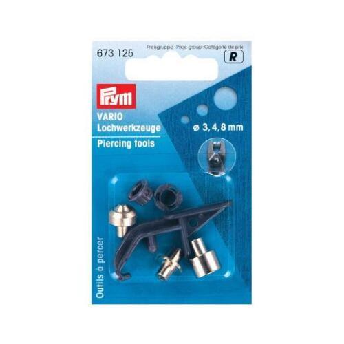 673125 Prym Vario Piercing Tools for use with Vario pliers