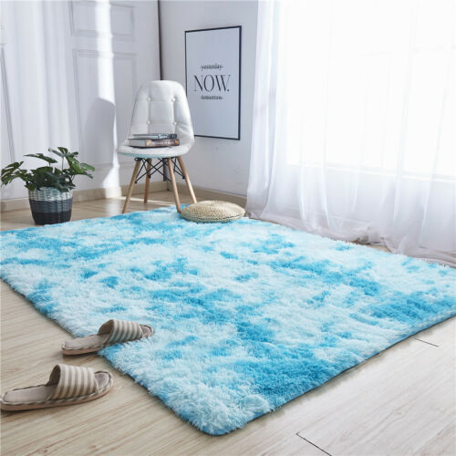 Ultra Soft Modern Area Rugs Shaggy Nursery Rug Home Room Plush Carpet Decor 2019