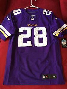 Nike NFL Elite Adrian Peterson Jersey size 40 Brand New Minnesota ...