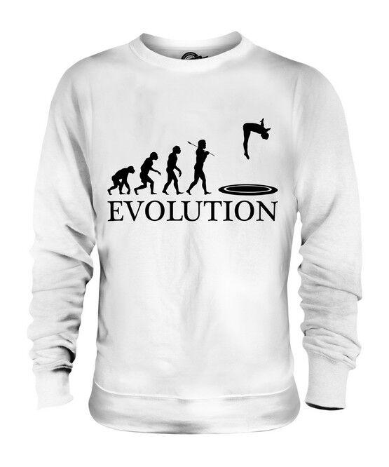 TRAMPOLINE EVOLUTION OF MAN UNISEX SWEATER  Herren Damenschuhe LADIES GIFT CLOTHING