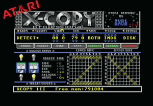 Atari St Ste Stfm Stf Mega Xcopy Iii V1.3 -disque Copieur Utilitaire Application
