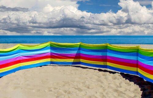 Coupe-vent 15 m Protection Solaire windscherm Plage Jardin Mer Lac différentes couleur