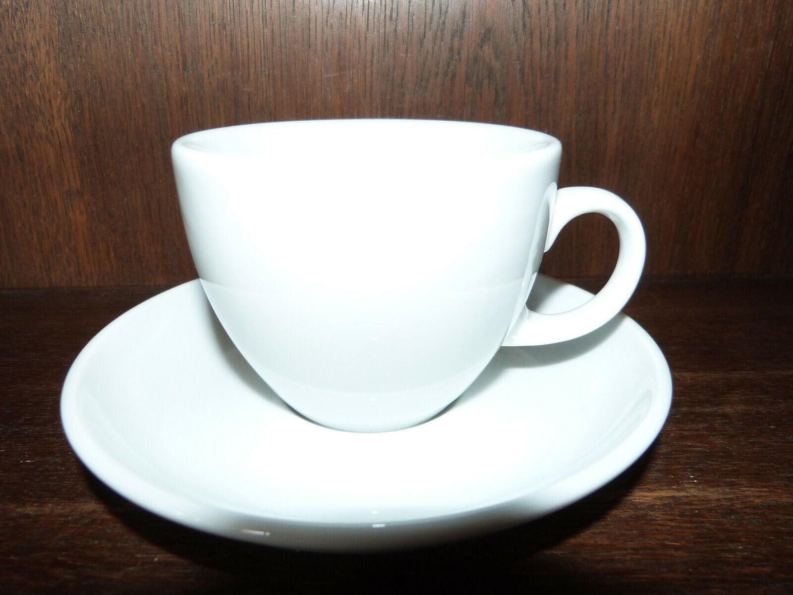 6 Kaffeetassen 2tlg. Lukullus weiß von Seltmann Weiden | Elegant Und Würdevoll