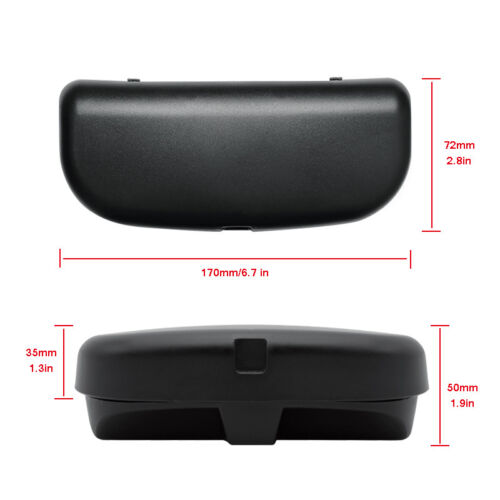Car Sunglasses Holder Glasses Organizer Storage Case For BMW 1 3 4 5 7 X1 X5 F35