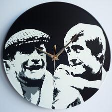 """Del & Rodney - Only Fools and Horses 12"""" LP Vinyl Record Clock, Pop Art, Canvas"""