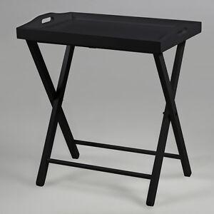beistelltisch vasa tabletttisch kiefernholz tisch schwarz. Black Bedroom Furniture Sets. Home Design Ideas
