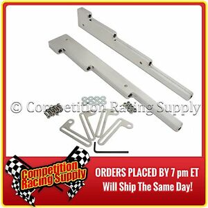 SBC Chevy Small Block, Ford SBF Chrome Aluminum Spark Plug Wire Looms 6039C