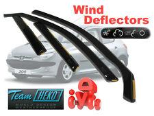 PEUGEOT 206  1998 - 2006 HATCHBACK Wind deflectors 4.pc   HEKO  26113