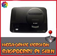 Raspberry Pi 3 (Skin only) MegaDrive (Use official Raspberry pi 3 case) Retropie