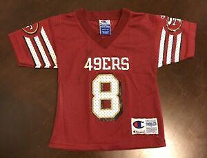 Details about Rare Vintage Champion NFL San Francisco 49ers Steve Young 2T Toddler Jersey
