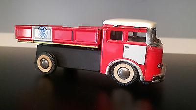 In QualitäT MüHsam Antique Antik Red China Tin Toy Dump Truck Mf 936 Old Toy üBerlegene