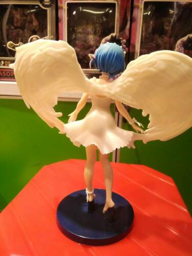 Anime Re:Zero Starting Life in Another World Angel Rem Oni Tenshi PVC Figure NB