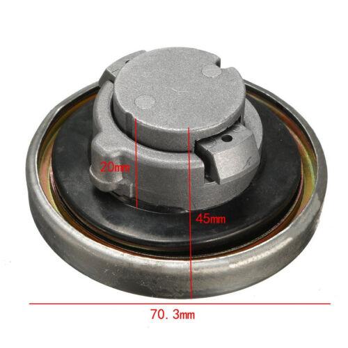 Aluminiumlegierung Chrom Tankdeckel mit 2 Schlüsseln für Yamaha V-STAR VIRAGO