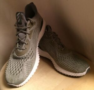 7c8dbe4a9 Adidas Alphabounce EM Running Shoes US Mens Size 7.5M Green and ...
