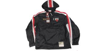 1997 NBA Finals Chicago Bulls Mens Sizes Mitchell & Ness Packable Jacket
