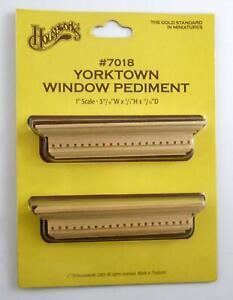 Dollhouse Miniature Yorktown Window Pediment. Houseworks, Ltd.. Best