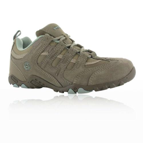 Hi-Tec Quadra Classic Womens Brown Outdoors Walking Camping Shoes Trainers