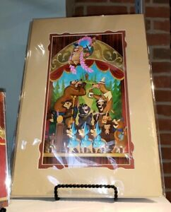 Disney-Parks-Country-Bear-Jamboree-Deluxe-Print-by-Sam-Carter-Wonderground-New