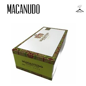 Macanudo-Montego-Y-CIA-Cafe-30-Court-Cafe-Empty-Wooden-Cigar-Box