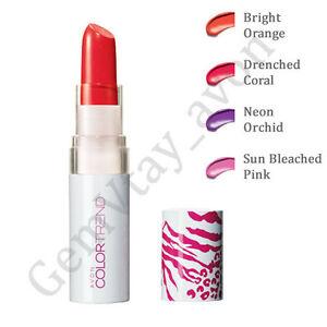 Avon-Color-Trend-Kiss-039-n-039-Go-Lapiz-Labial-Colortrend-Neon-Tonos-RRP-3-75