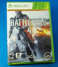 Battlefield 4 (Microsoft Xbox 360, 2013)China Rising Expansion, 2 DISC, NO BOOK