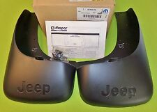 NEW Mopar 82205175 Rear Mud & Splash Guards for 02-07 JEEP LIBERTY, exc Renegade