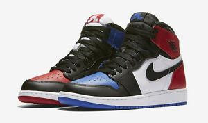 air jordan 1 blue red and white
