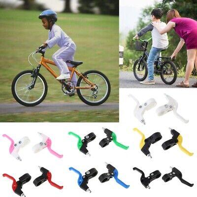 1 pair plastic kids children bicycle brake handle bike cycling brake levers HI