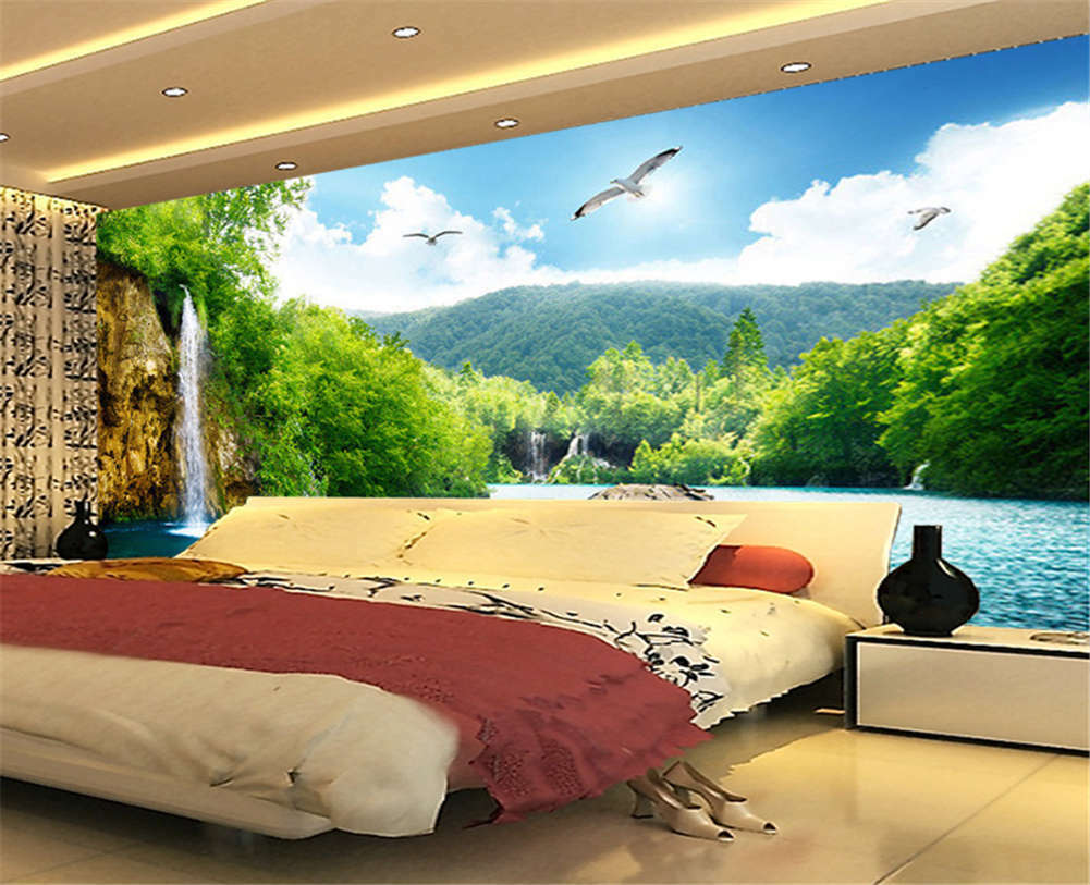Obscure Absurd Hill 3D Full Wall Mural Photo Wallpaper Printing Home Kids Decor