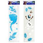 Christmas Window Decoration Gel Stickers Frozen Elsa / Olaf