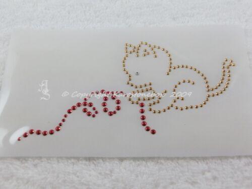 HotFix pedrería perchas imagen dulce gatito con lana 090406-07sa