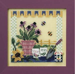 MILL-HILL-Buttons-Beads-Kit-Counted-Cross-Stitch-POTTING-TABLE-MH14-8101