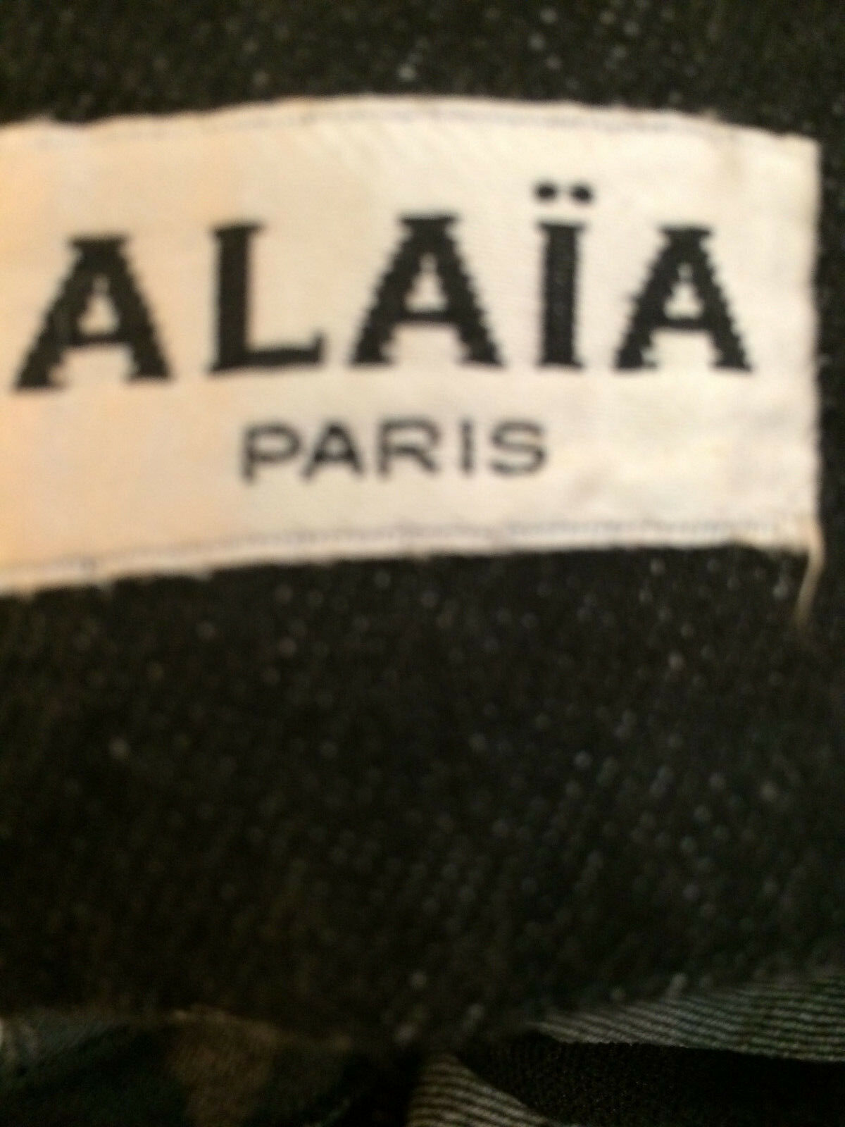 Iconic Azzedine Alaia vintage denim jacket and sk… - image 3
