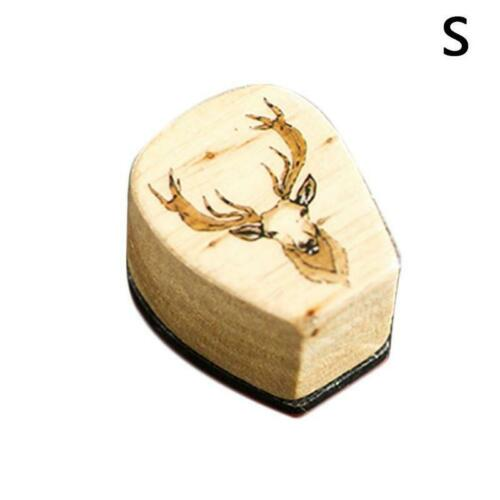 1PC Sweet Pattern Wooden Wood Rubber Stamp Stamper Seal Craft Diary  ☆