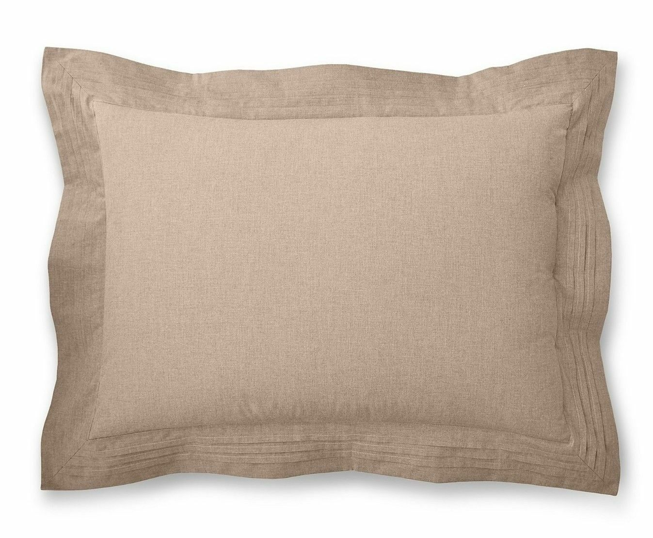 Ralph Lauren Modern Icons redh King Sham In Taupe