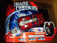 Transformers Movie 2007 Tru Toys R Us Limited Run Exclusive Inferno Allspark