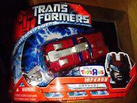 Transformers Movie 2007 Tru Toys R Us Limited Run Exclusive Inferno Allspark