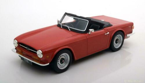 1:18 LS Collectibles Triumph TR6 red