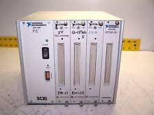 NATIONAL INSTRUMENTS SCXI-1000 4 SLOT CHASSIS W/SCXI-1181 BREADBOARD OPTO32-128