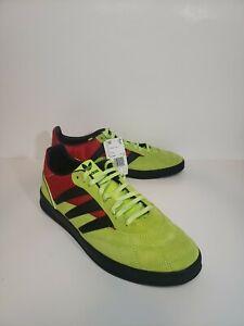 adidas-Sobakov-P94-EE5640-Scarlet-Red-Core-Black-Yellow-Men-039-s-Size-12