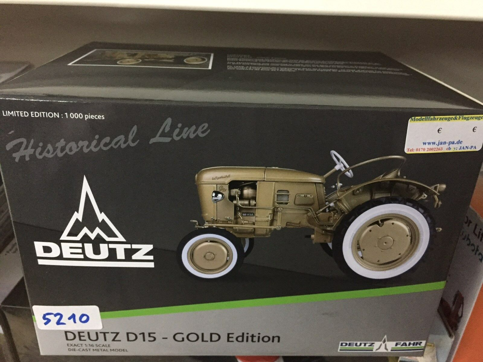 5210 DEUTZ d15 or Version Limited Edition, 1 16 Universal Hobbies