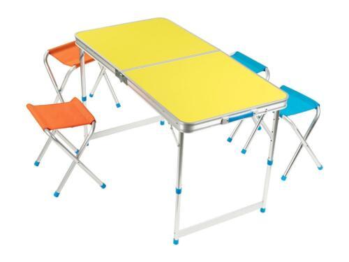 Klappmöbelset Klapp Tisch Camping Set B-Ware Vorführer